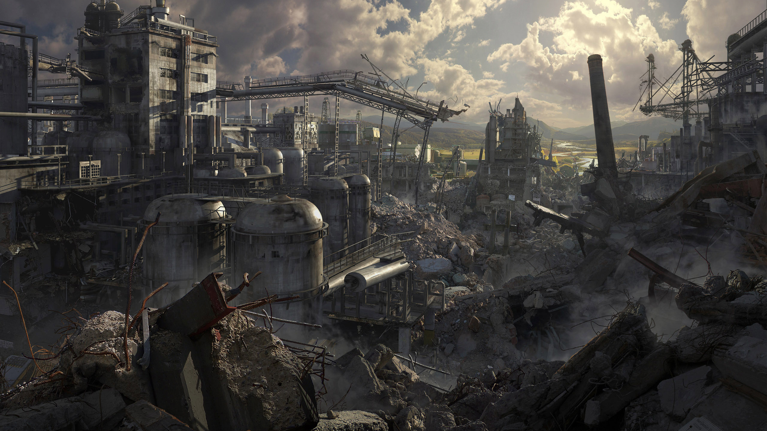 263 Post Apocalyptic HD Wallpapers | Backgrounds - Wallpaper Abyss