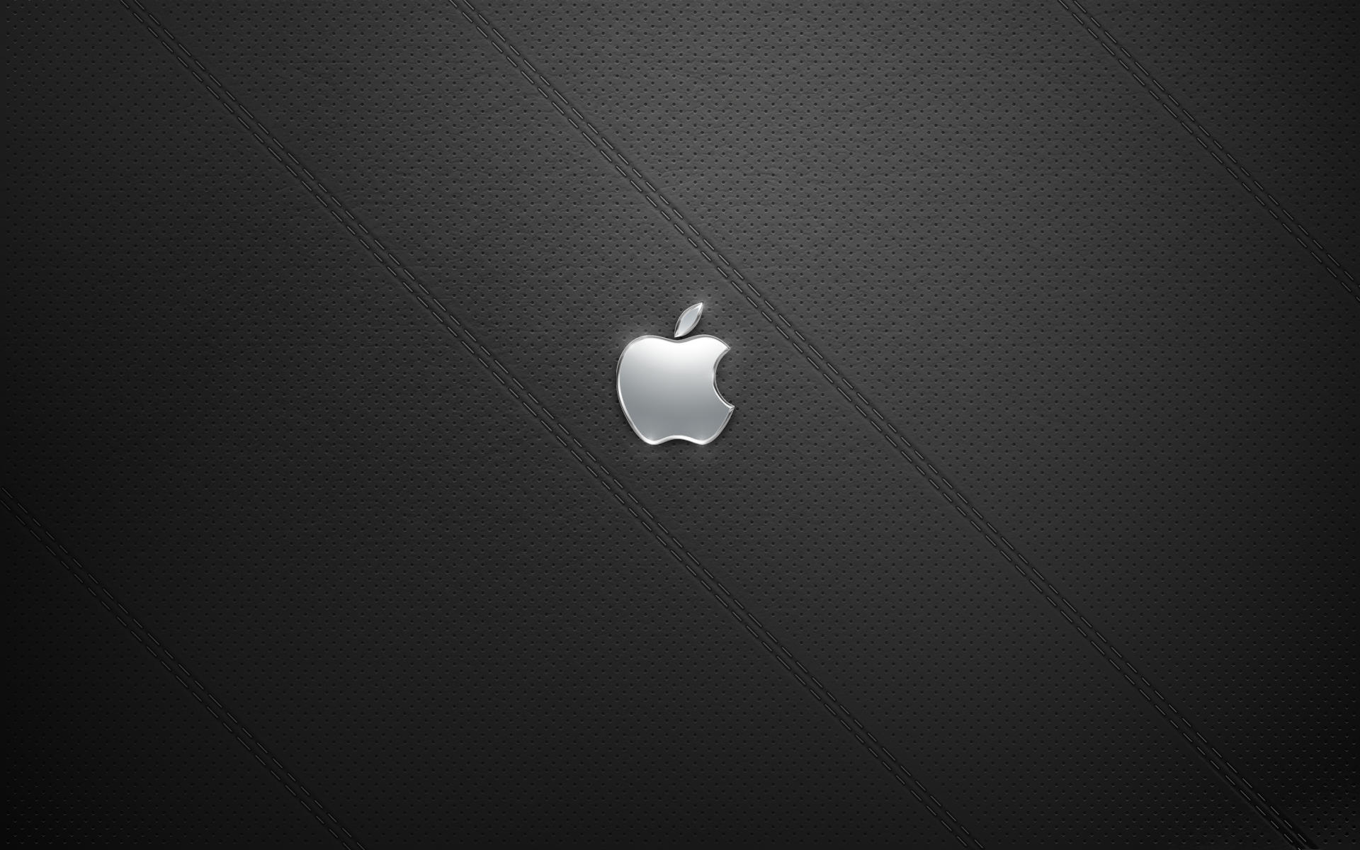 The Art of Adam Betts » Black Leather Apple Desktop Background
