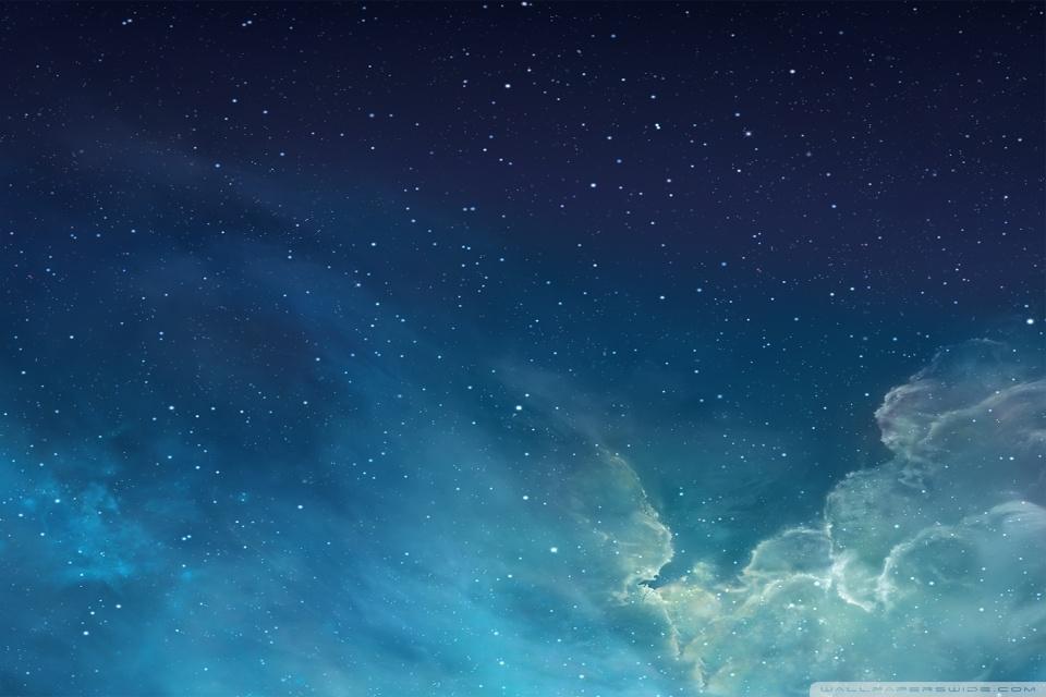Apple Galaxy Wallpaper