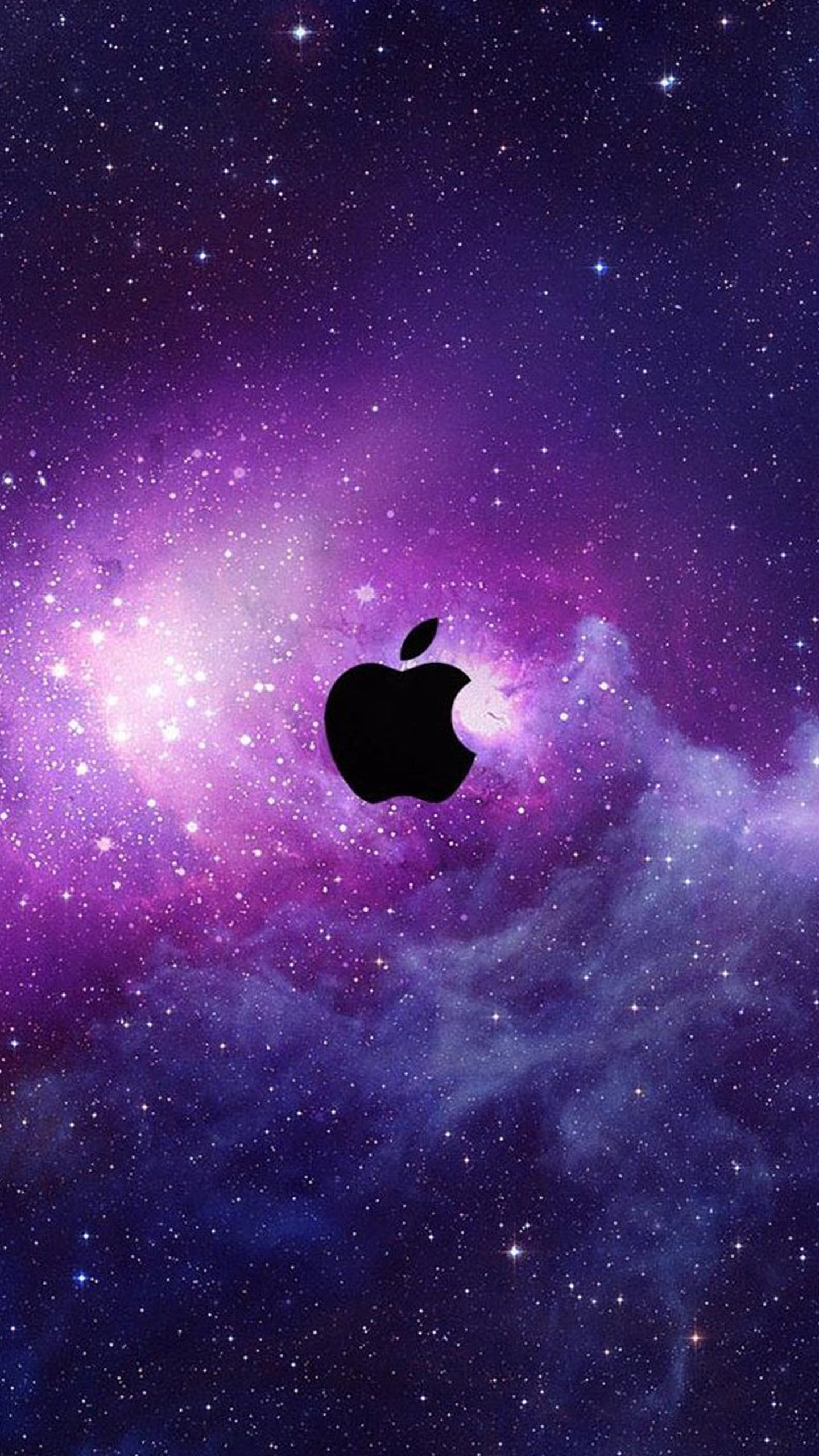 apple galaxy wallpaper - sf wallpaper