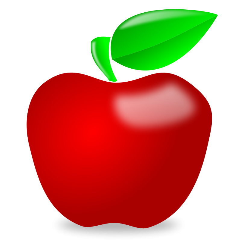 Cute clipart of apples - ClipartFest