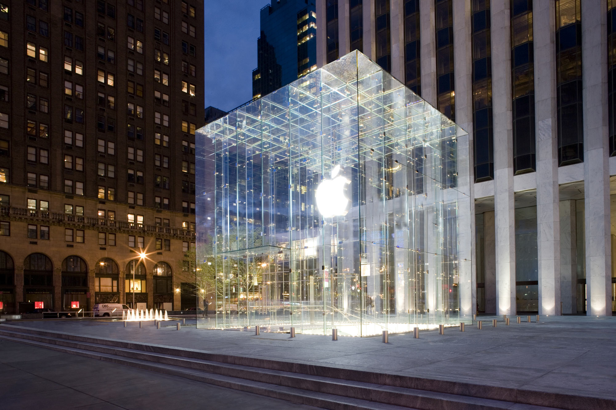 Apple Store, New York City widescreen wallpaper | Wide-Wallpapers NET