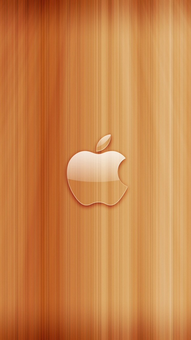 Apple Wood #iPhone #5s #Wallpaper | There are more in http://www