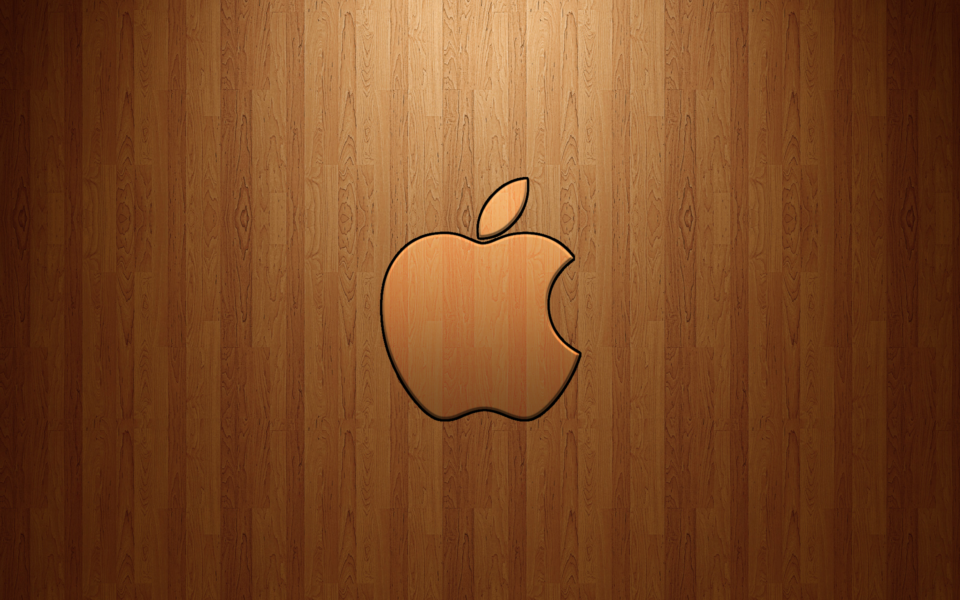 Apple Logo Wood wallpaper | 1920x1200 | #22143