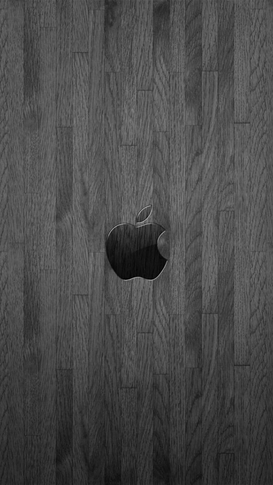 Apple logo wallpaper for iPhone 5 | Apple, Wood, Wallpaper