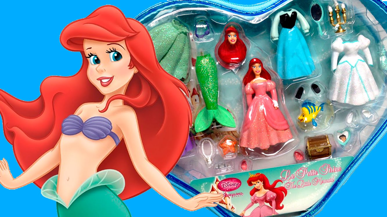Princess Ariel The Little Mermaid Princess Fashion Set La Petite