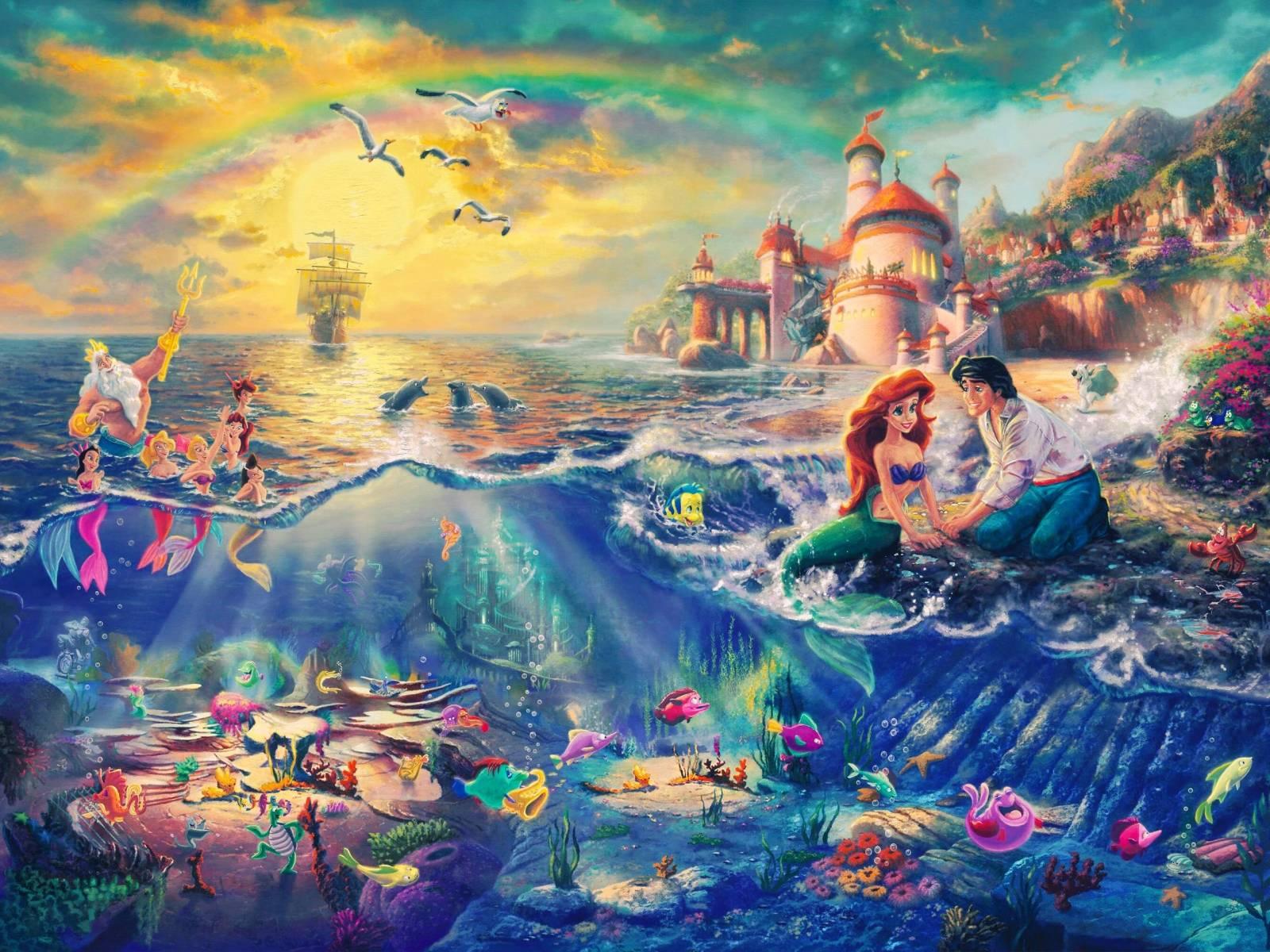 Princess Ariel Wallpapers - Wallpaper Cave