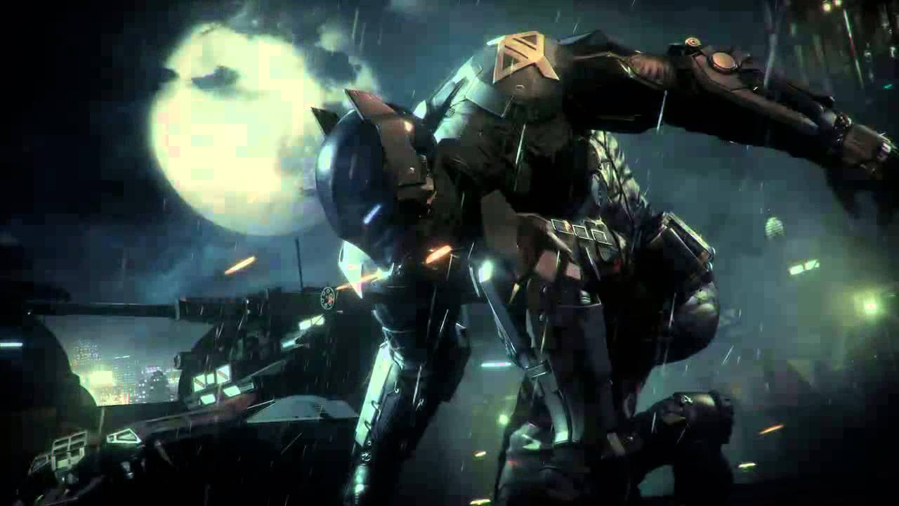 Batman Arkham Knight Wallpaper reveal - YouTube