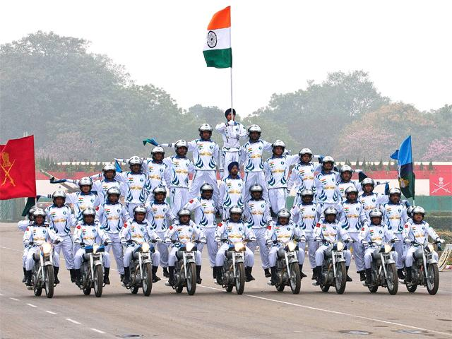 Indian Army celebrates Army Day - Choicest images: Indian Army