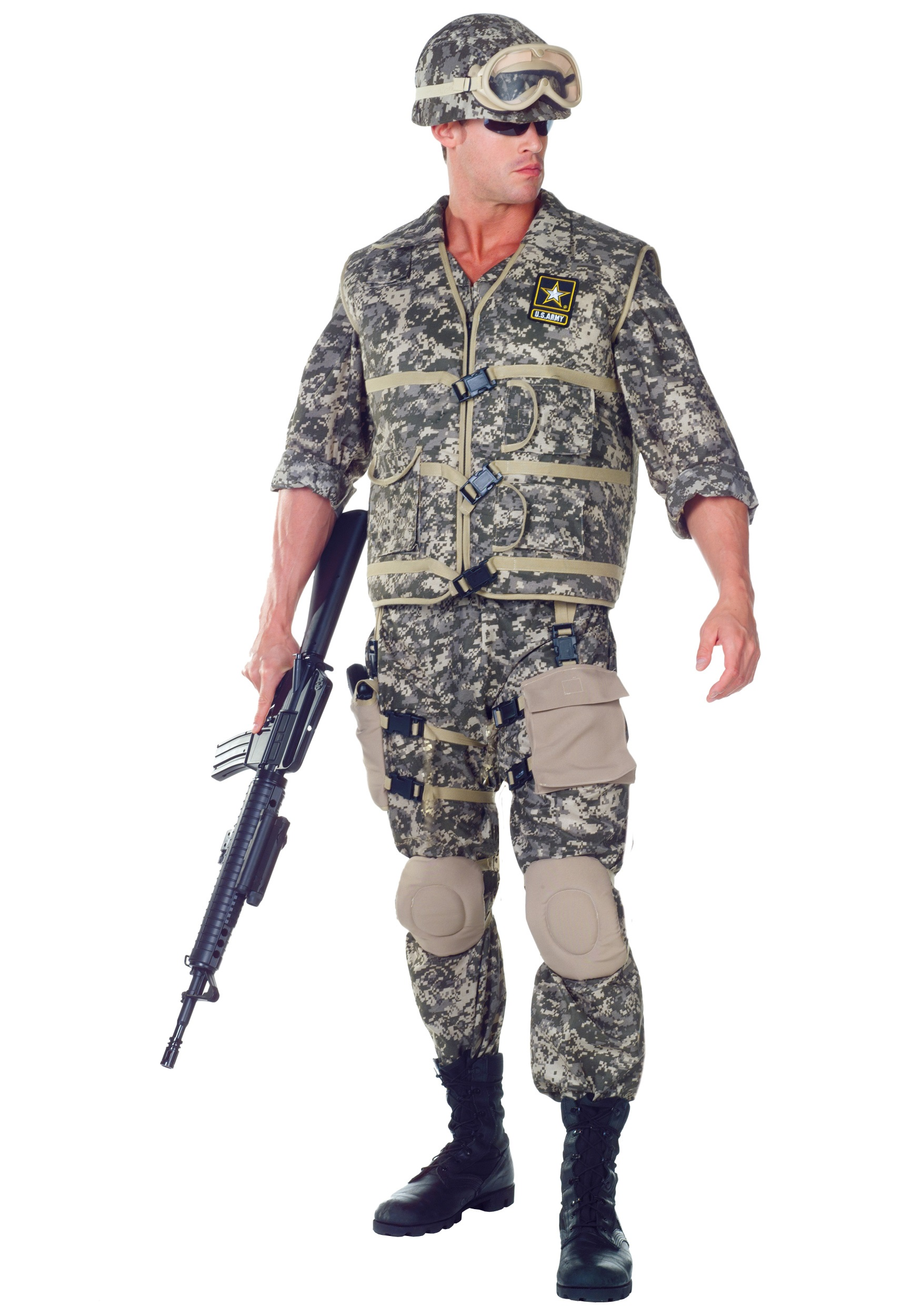 Army Costumes & Camo Soldier Outfits - HalloweenCostumes com