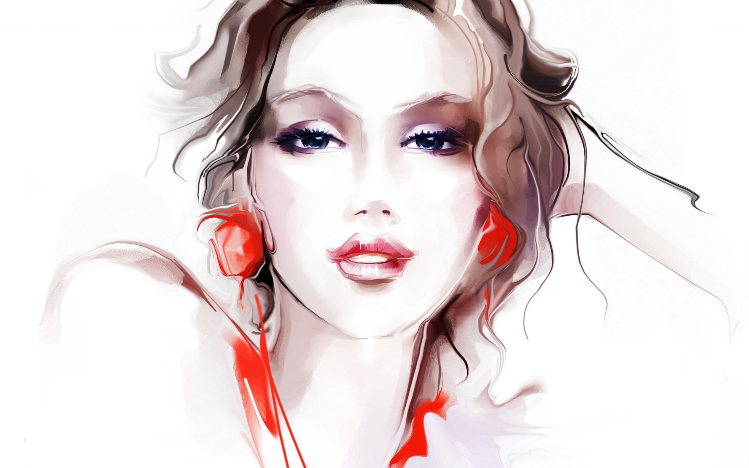Art Girl Wallpaper