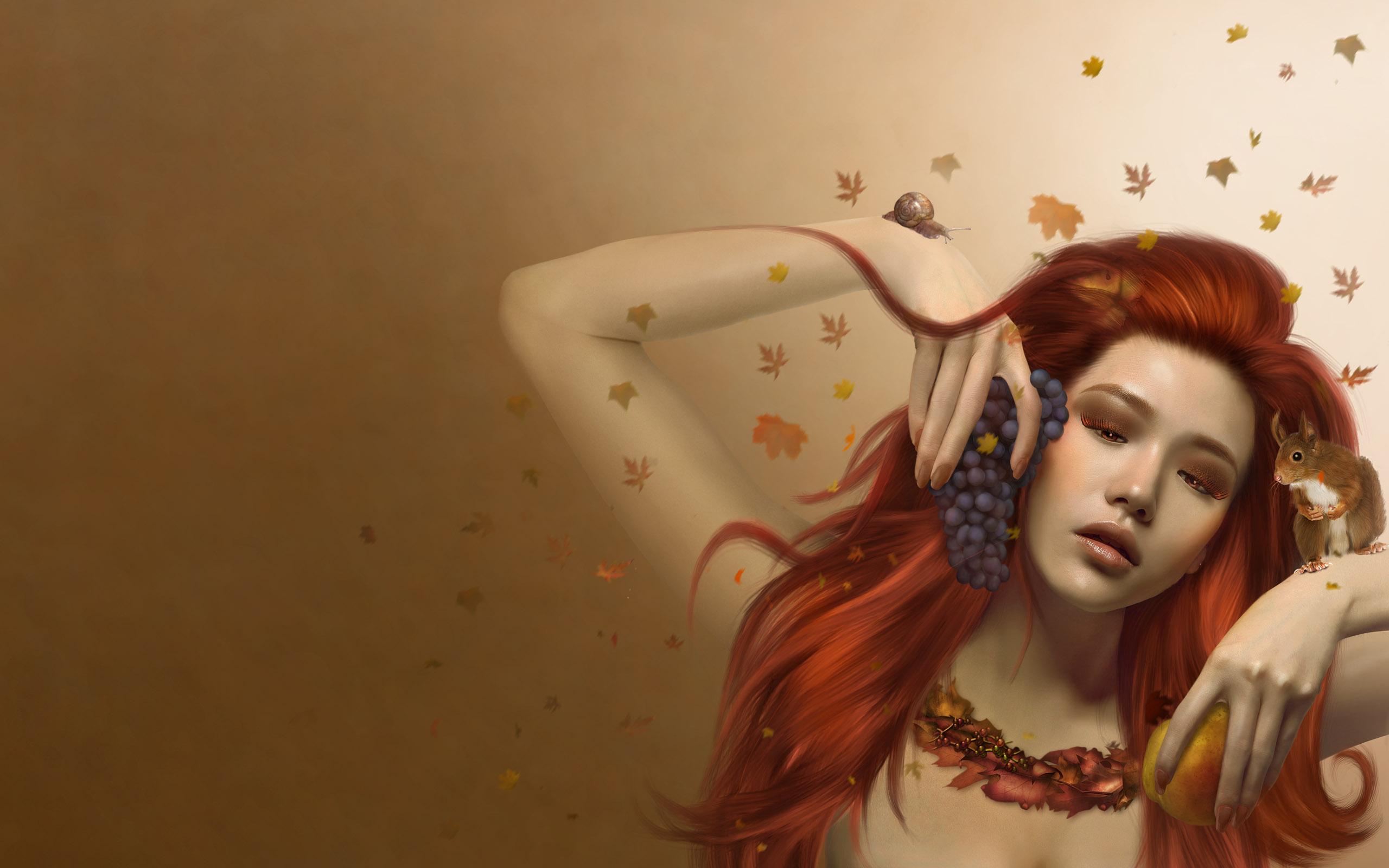artistic girl wallpaper - sf wallpaper