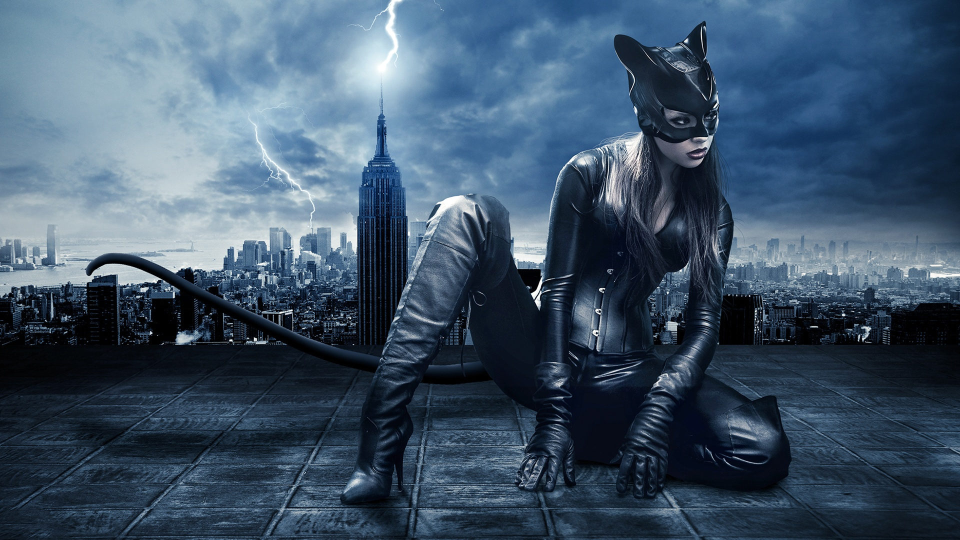Catwoman art wallpaper | 1920x1080 | #10092