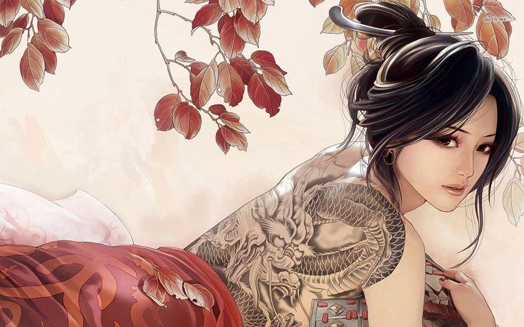 47 art girl wallpaper Pictures