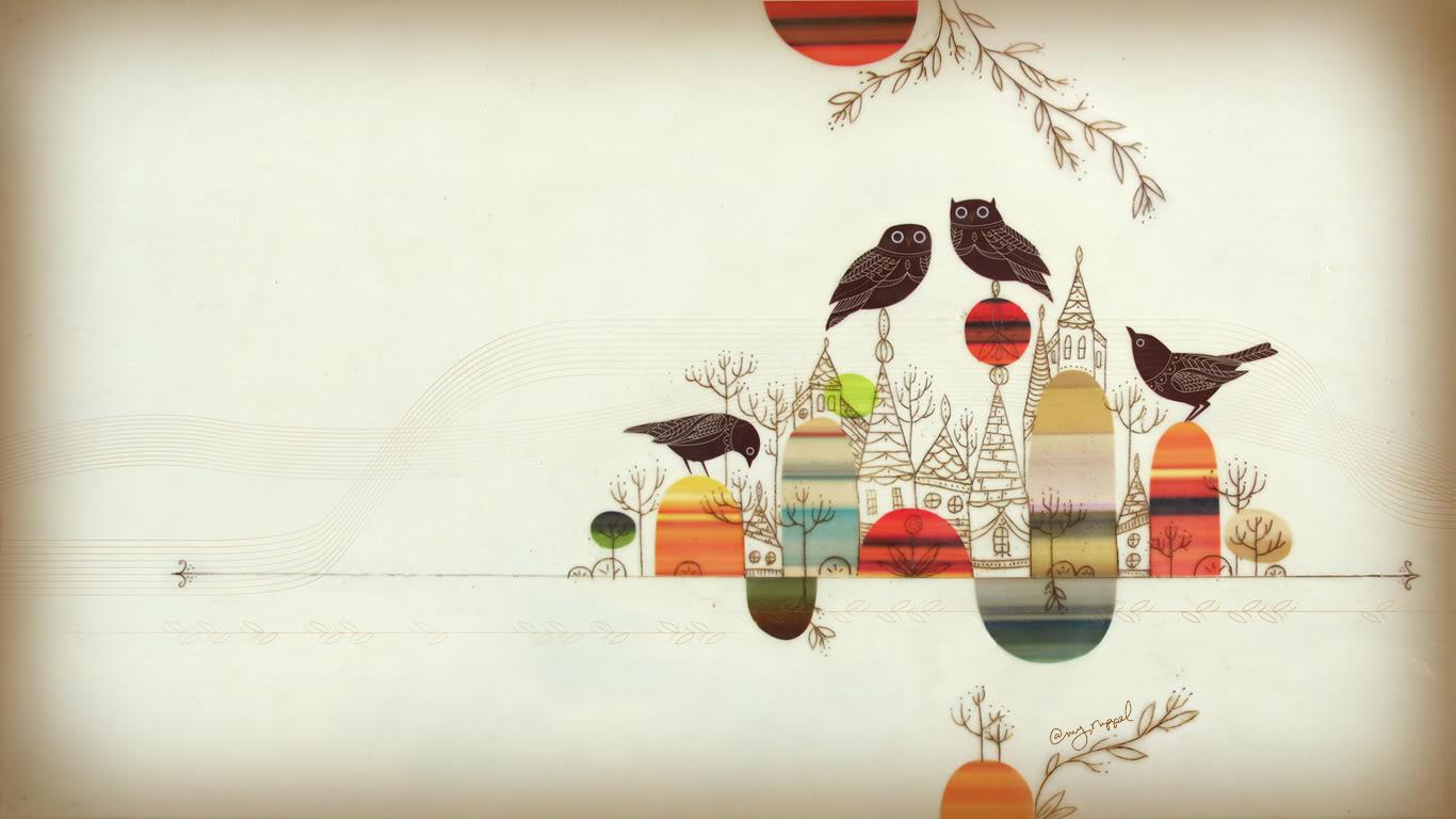 Artsy Desktop Wallpaper