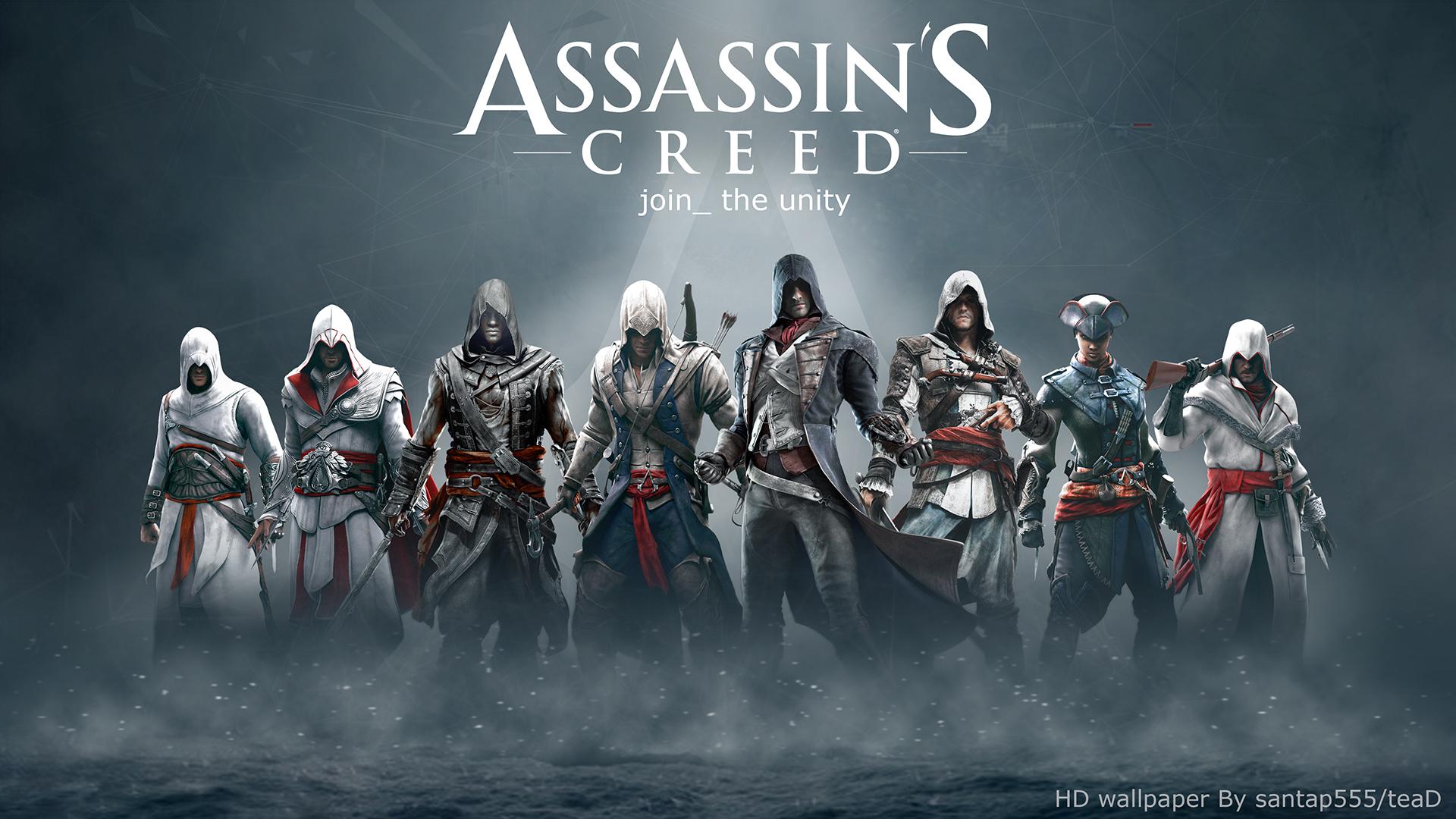 Assassins Creed HD Wallpaper By TeaD Santap555 Deviantart Com