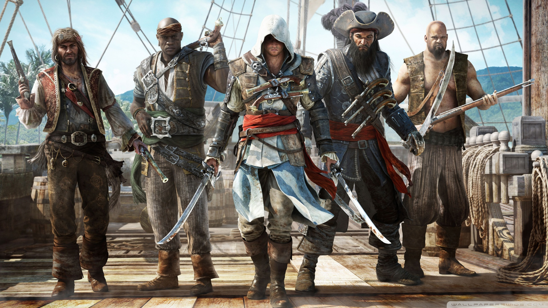 Assassins Creed IV Black Flag HD desktop wallpaper : High