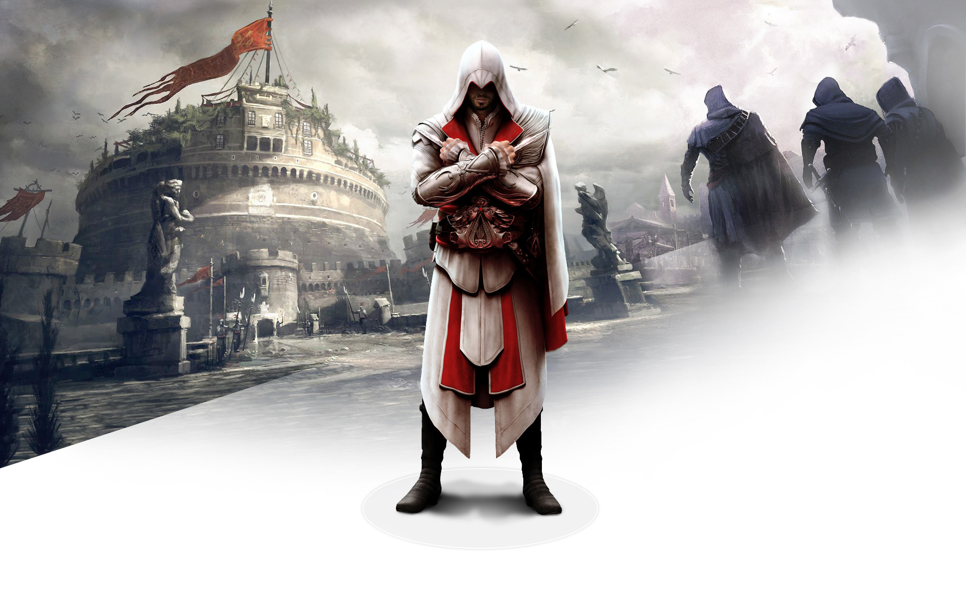 Ezio In Assassins Creed Brotherhood Wallpapers