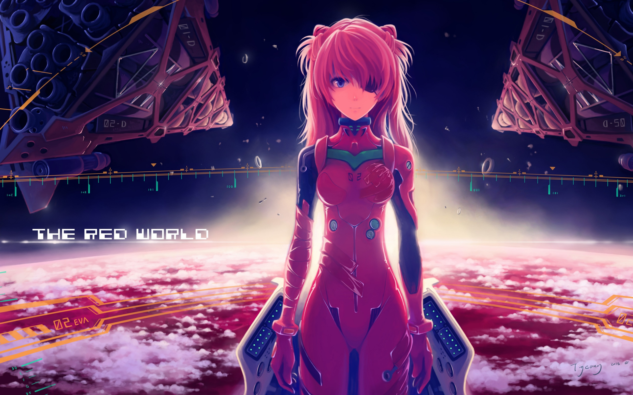 125 Asuka Langley Sohryu HD Wallpapers | Backgrounds - Wallpaper Abyss