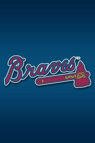 Atlanta Braves iPhone Wallpaper | baseball | Pinterest | Atlanta