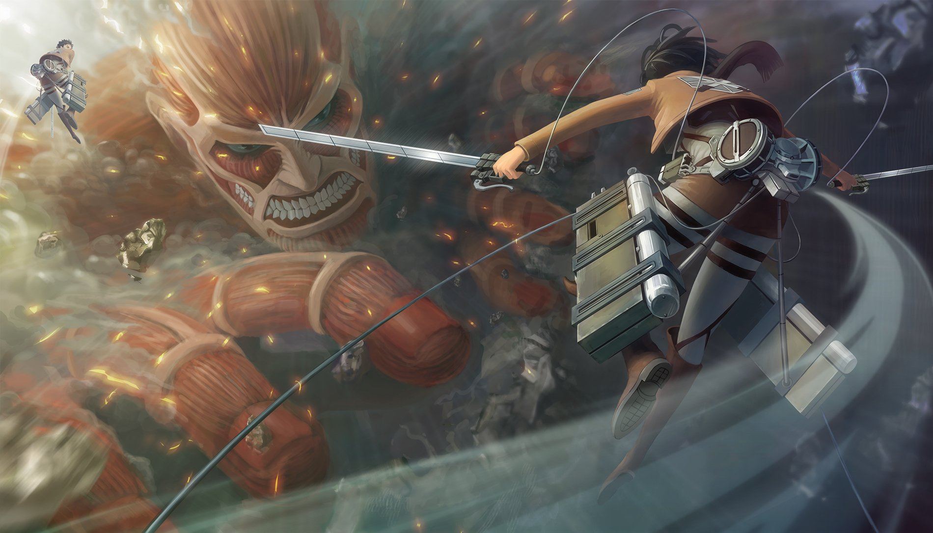 1165 Attack On Titan HD Wallpapers