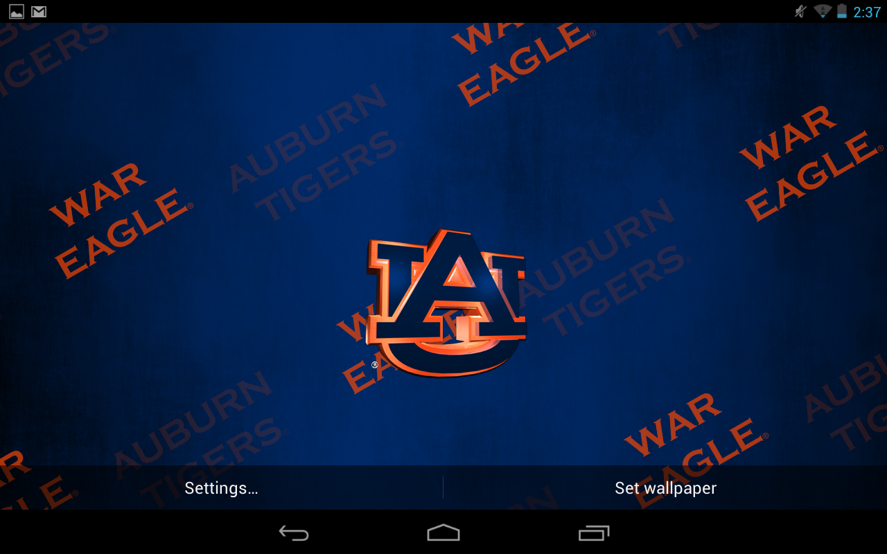 Auburn Tigers Live Wallpaper - Android Apps on Google Play