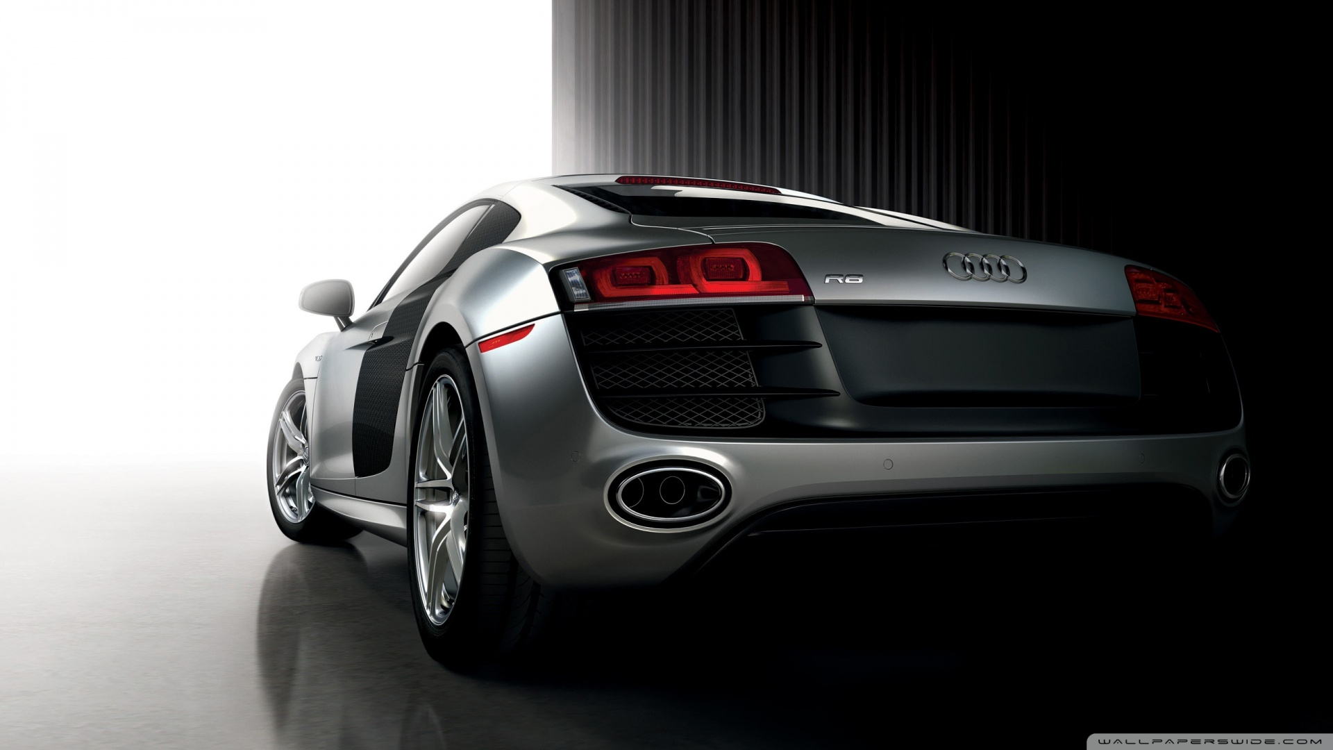 Audi R8 HD desktop wallpaper : Widescreen : High Definition