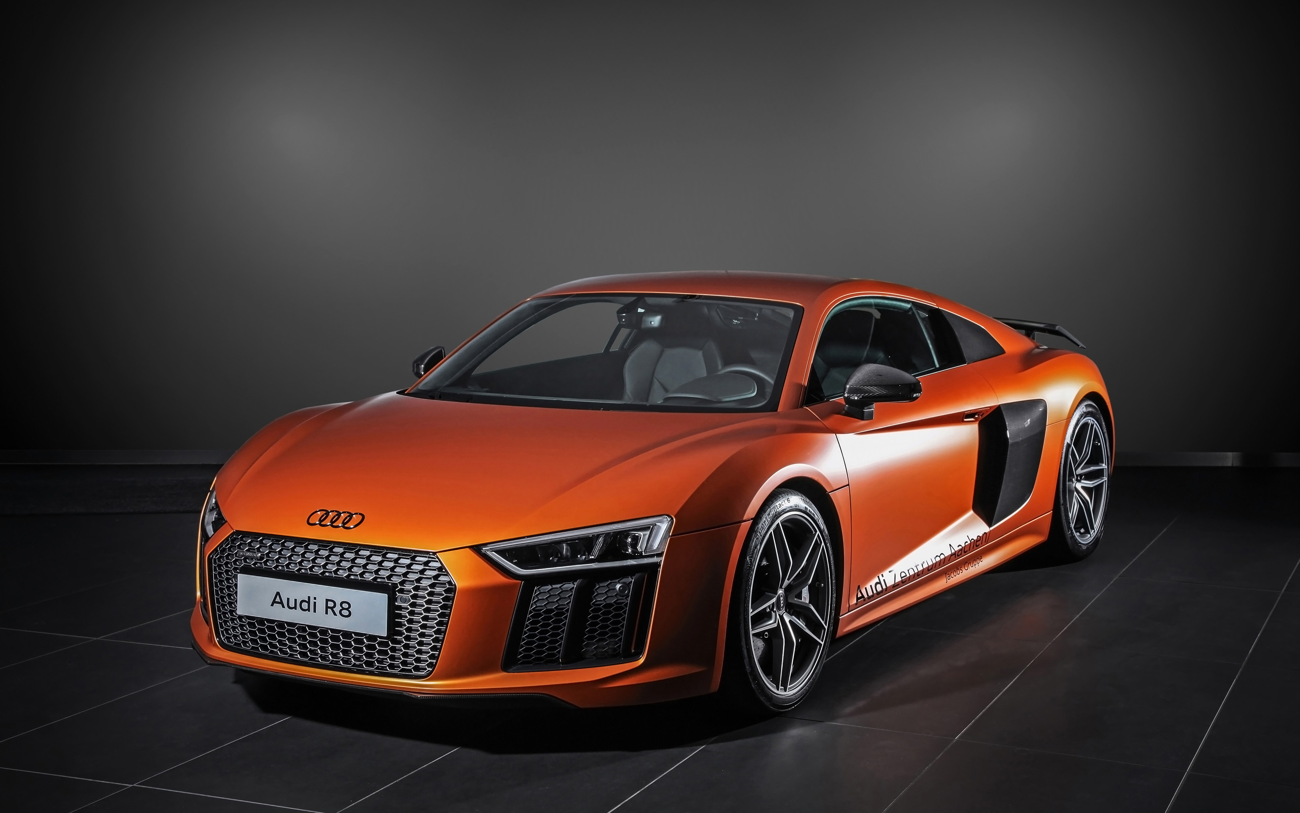2015 HplusB Design Audi R8 V10 Plus Wallpaper | HD Car Wallpapers