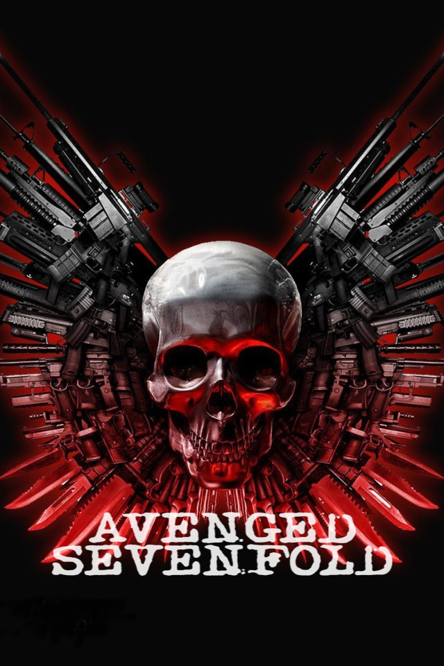 Avenged Sevenfold iPhone Wallpaper - WallpaperSafari