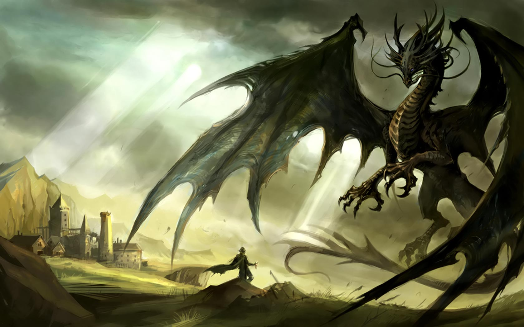 Awesome Dragon Backgrounds - WallpaperSafari