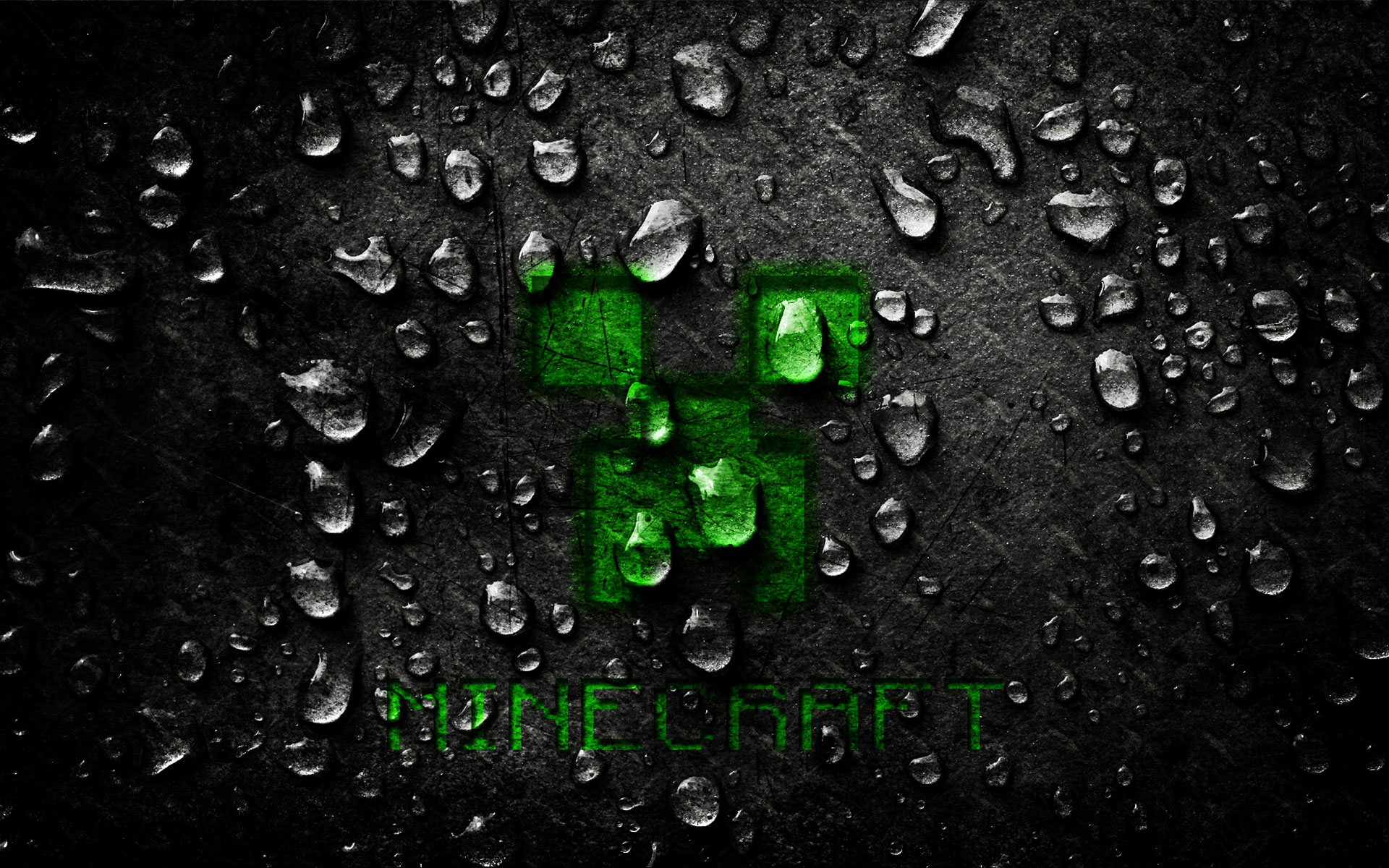 Awesome Minecraft Wallpapers Background Creeper Dark Diamod Src