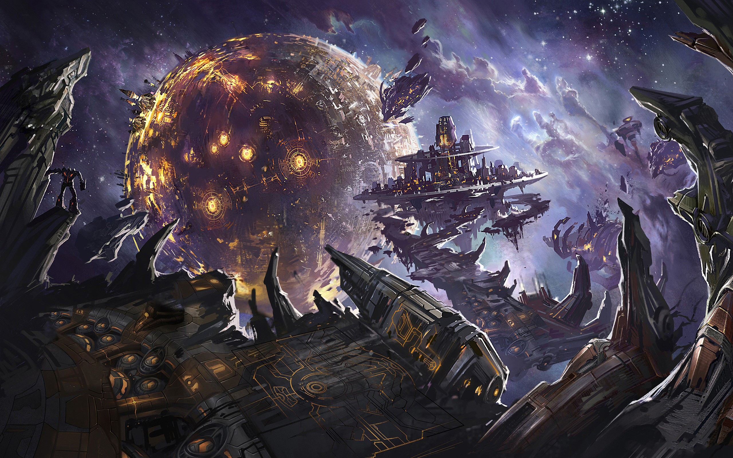 Space/Fantasy | Awesome Wallpapers