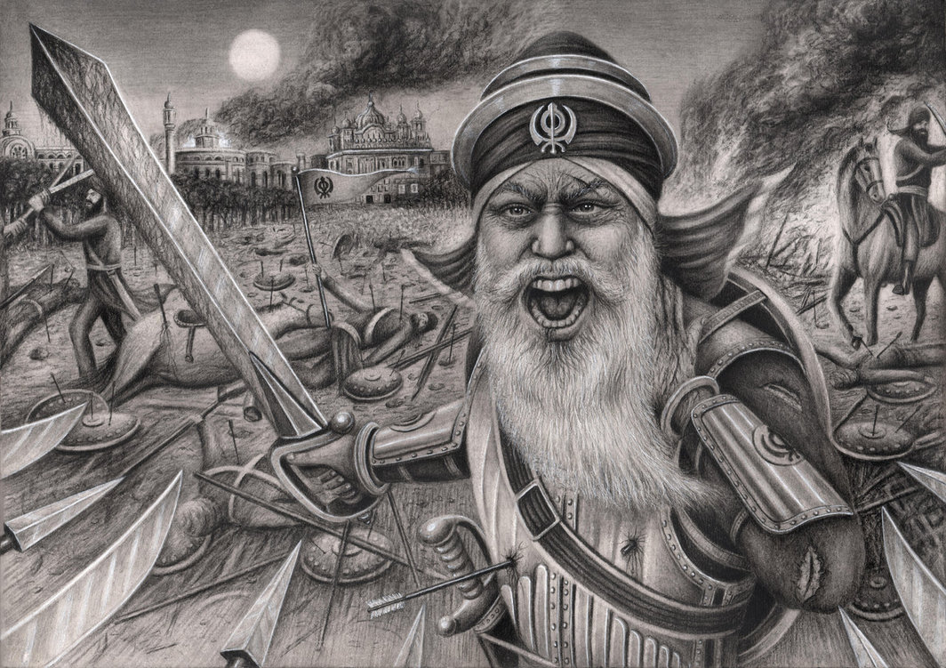 Baba Deep Singh Ji' by Pen-Tacular-Artist on DeviantArt