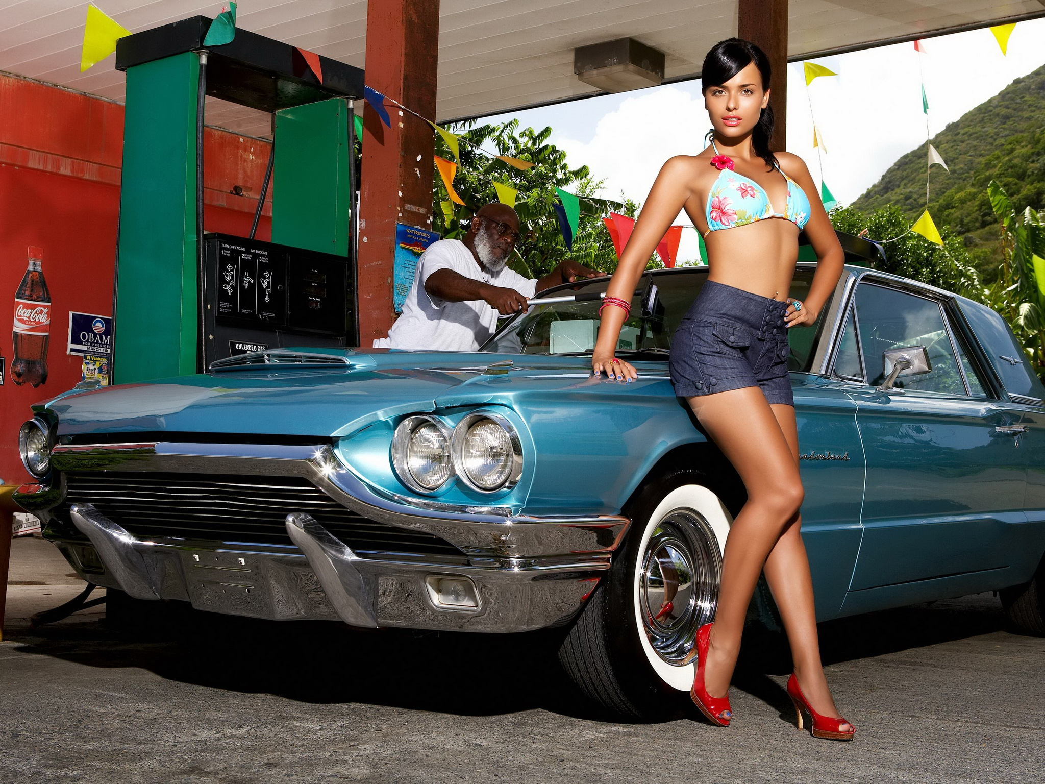 Babes And Cars Wallpapers - WallpaperPulse
