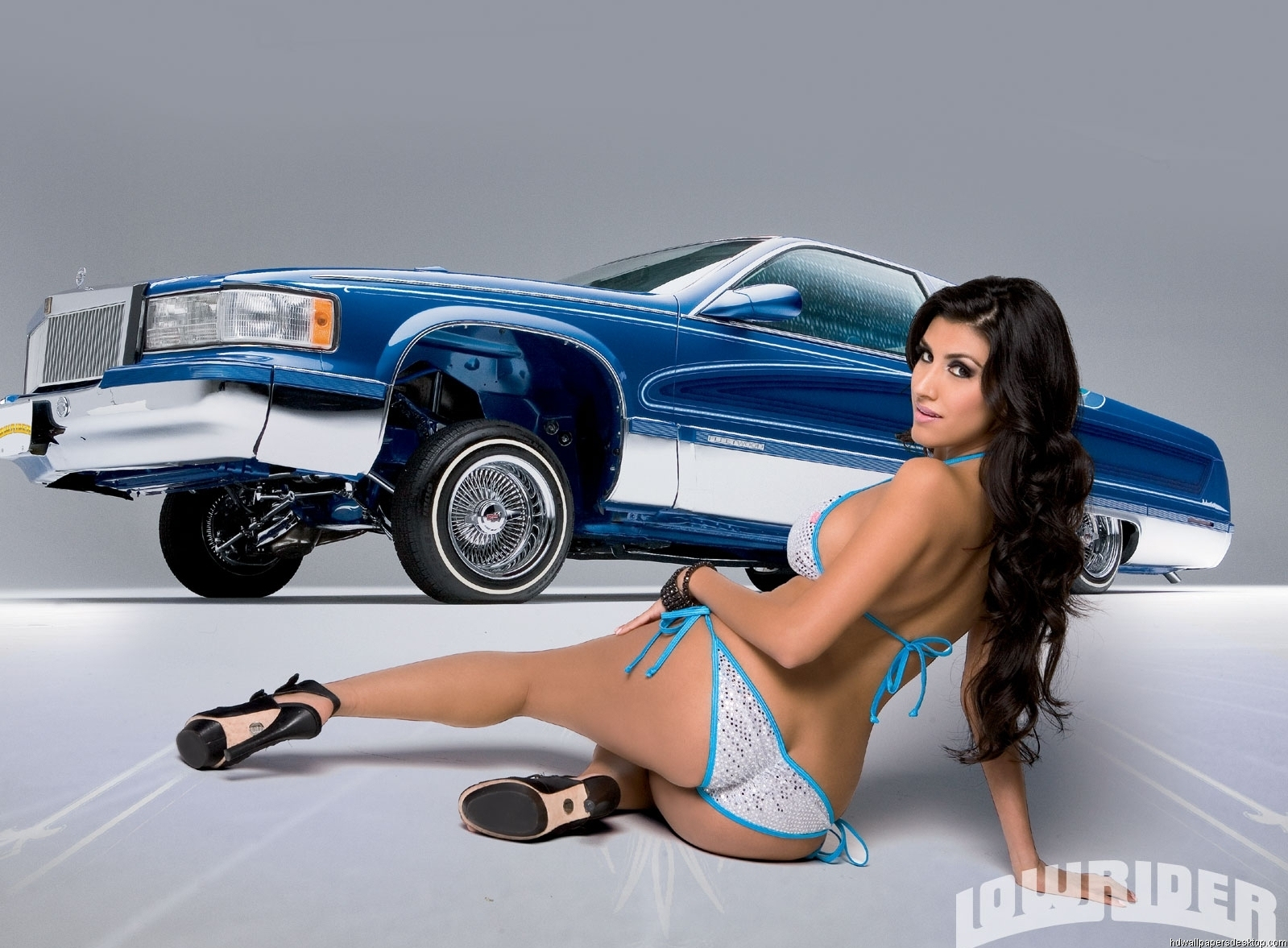 Sexy lowrider girls apologise, can