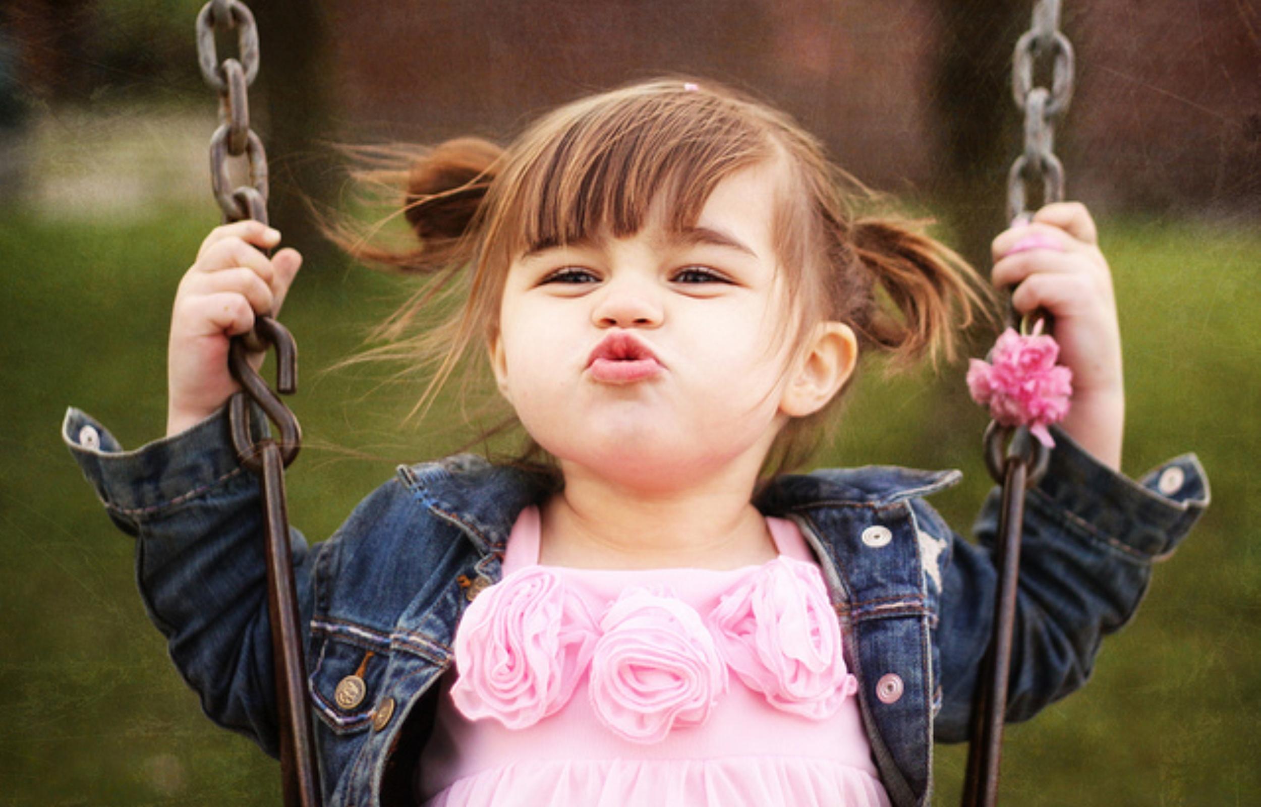 Cute Baby Girl Pictures Wallpapers - WallpaperSafari