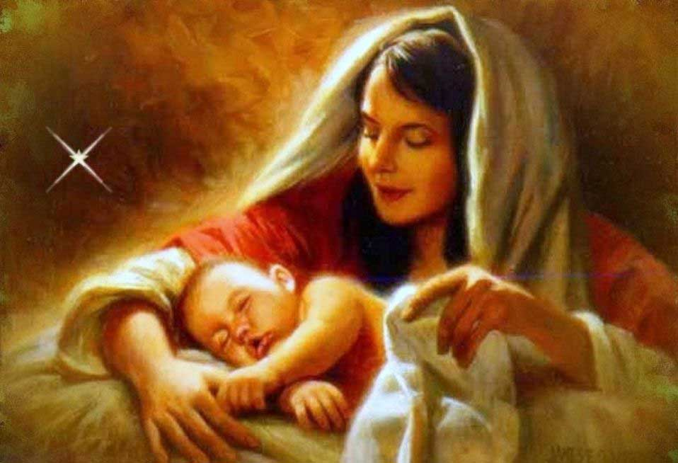 Mother Mary With Baby Jesus Wallpapers - Wallpaper Cave