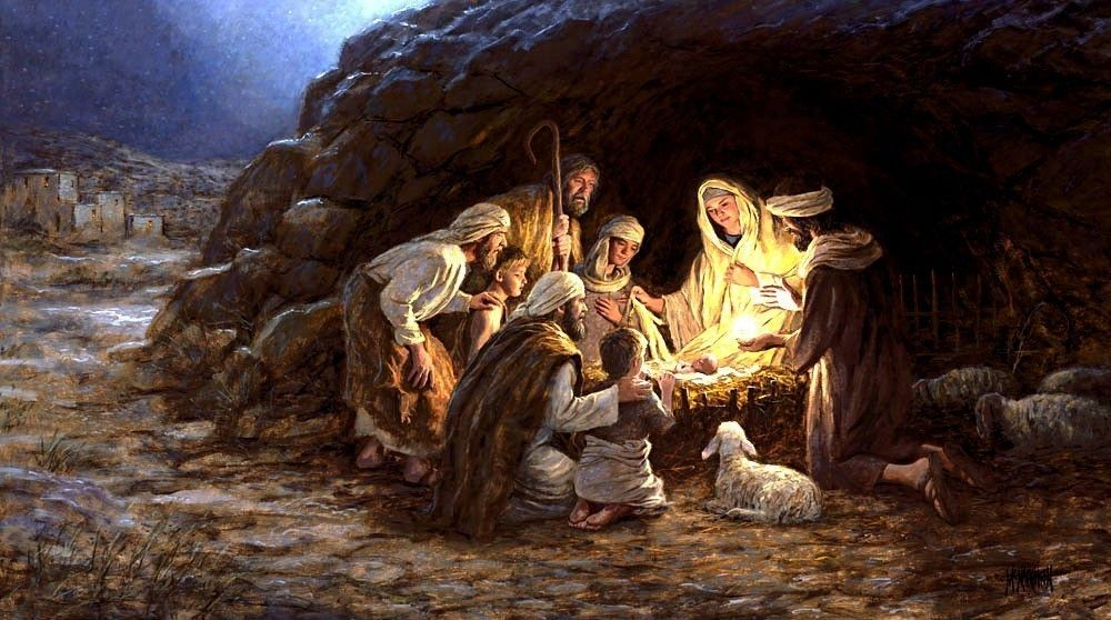 Christmas Jesus Wallpapers - Wallpaper Cave