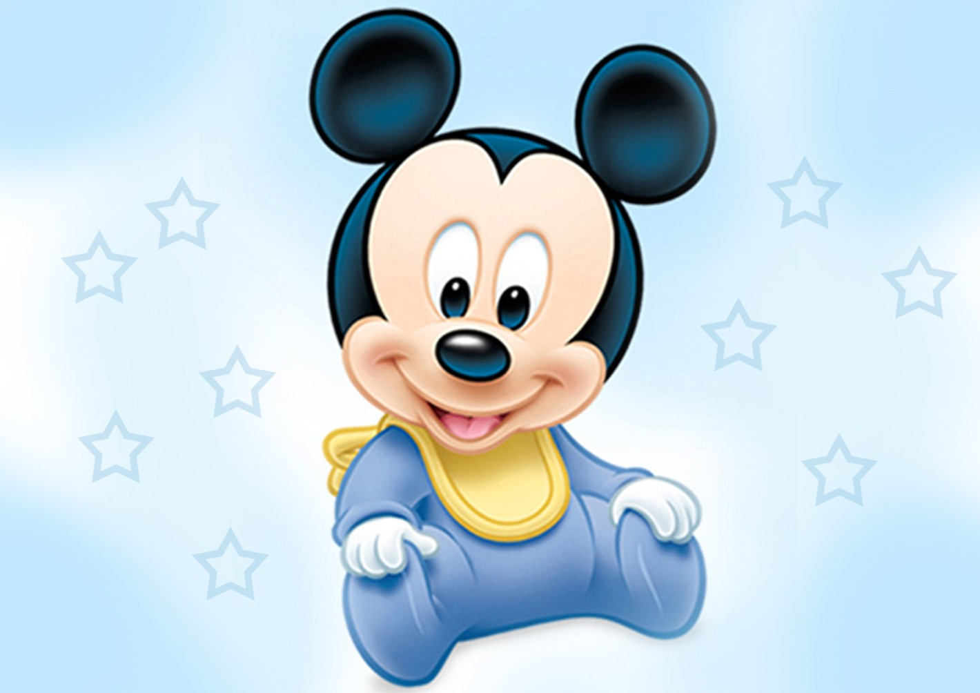 Mickey Mouse Baby Wallpaper - Mickey Mouse Invitations Templates