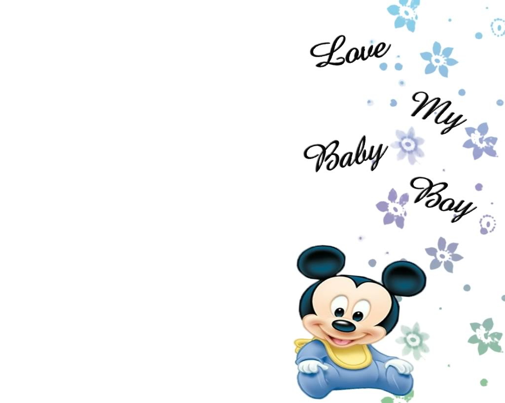 Baby Mickey Mouse Wallpaper - WallpaperSafari