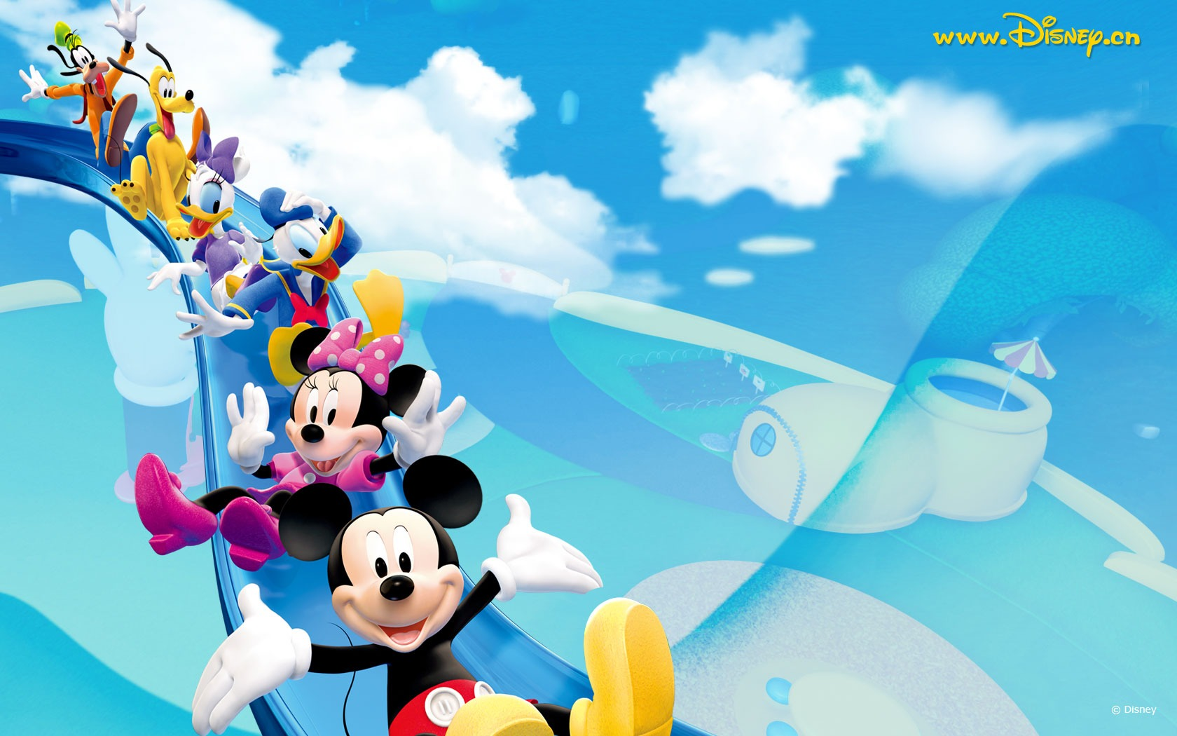 Baby Mickey Mouse Wallpaper Background – Free wallpaper download