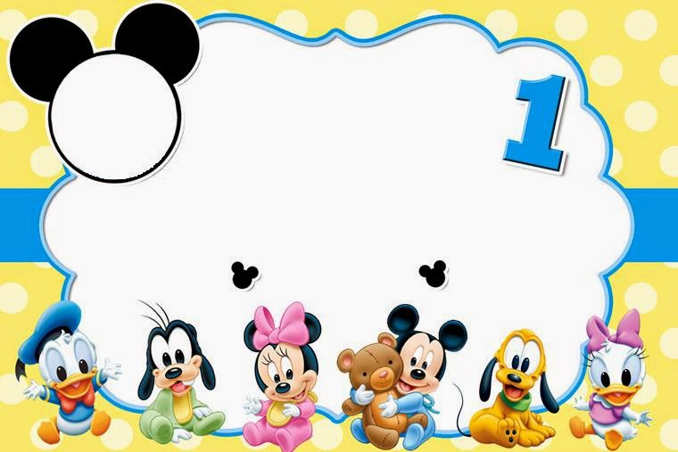 ImagesList com: Mickey Mouse Baby, part 1