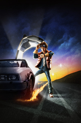 Back to the future iPhone 4 Wallpaper
