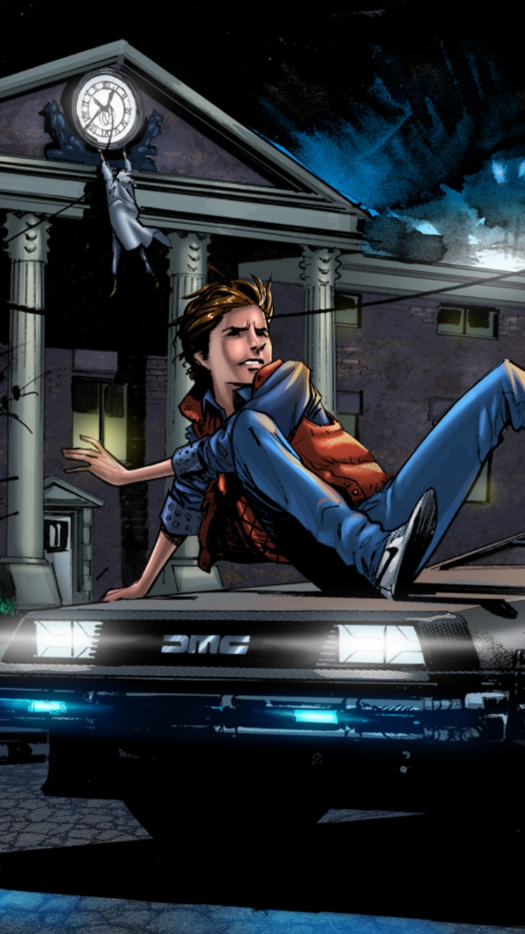 IPhone 6 Back to the future Wallpapers HD, Desktop Backgrounds