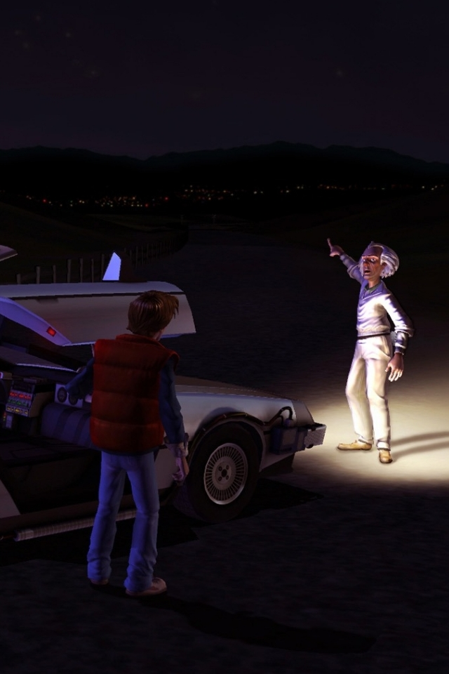 Back to the Future: The Game – iPad & iPhone Wallpapers
