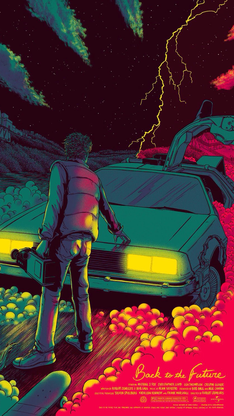 Back To The Future iPhone 6 Wallpaper (750x1334)