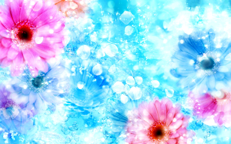 Vector flower wallpaper by Lileya Beautiful Flower Wallpaper