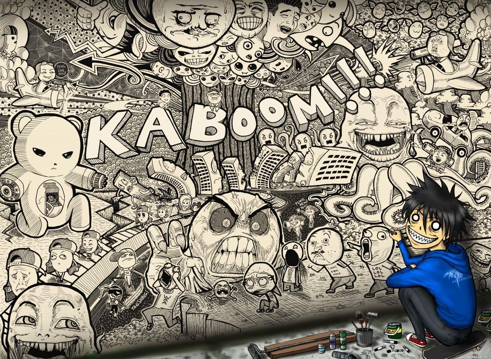 Graffiti Background - WallpaperSafari