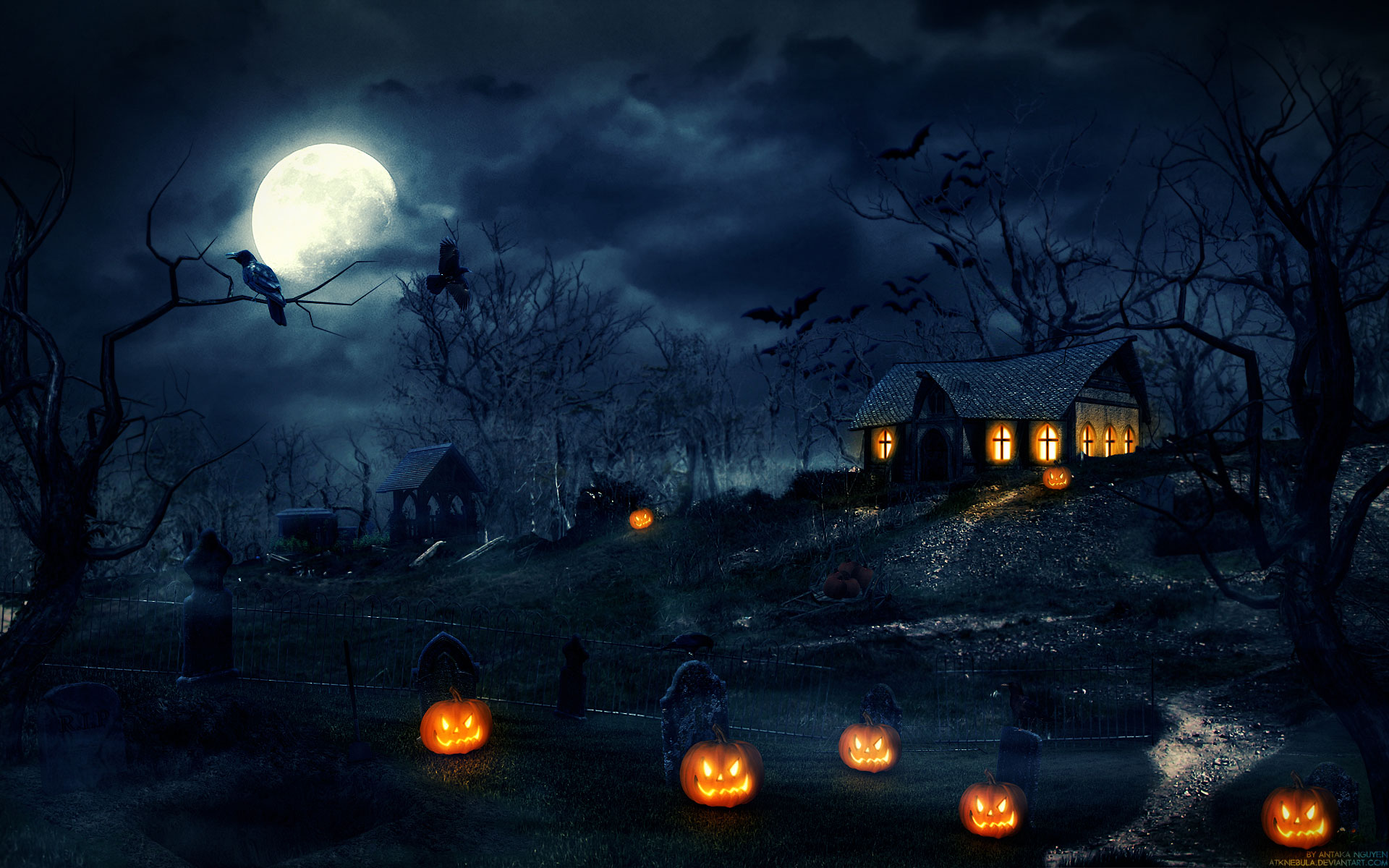 Halloween Background - WallpaperSafari