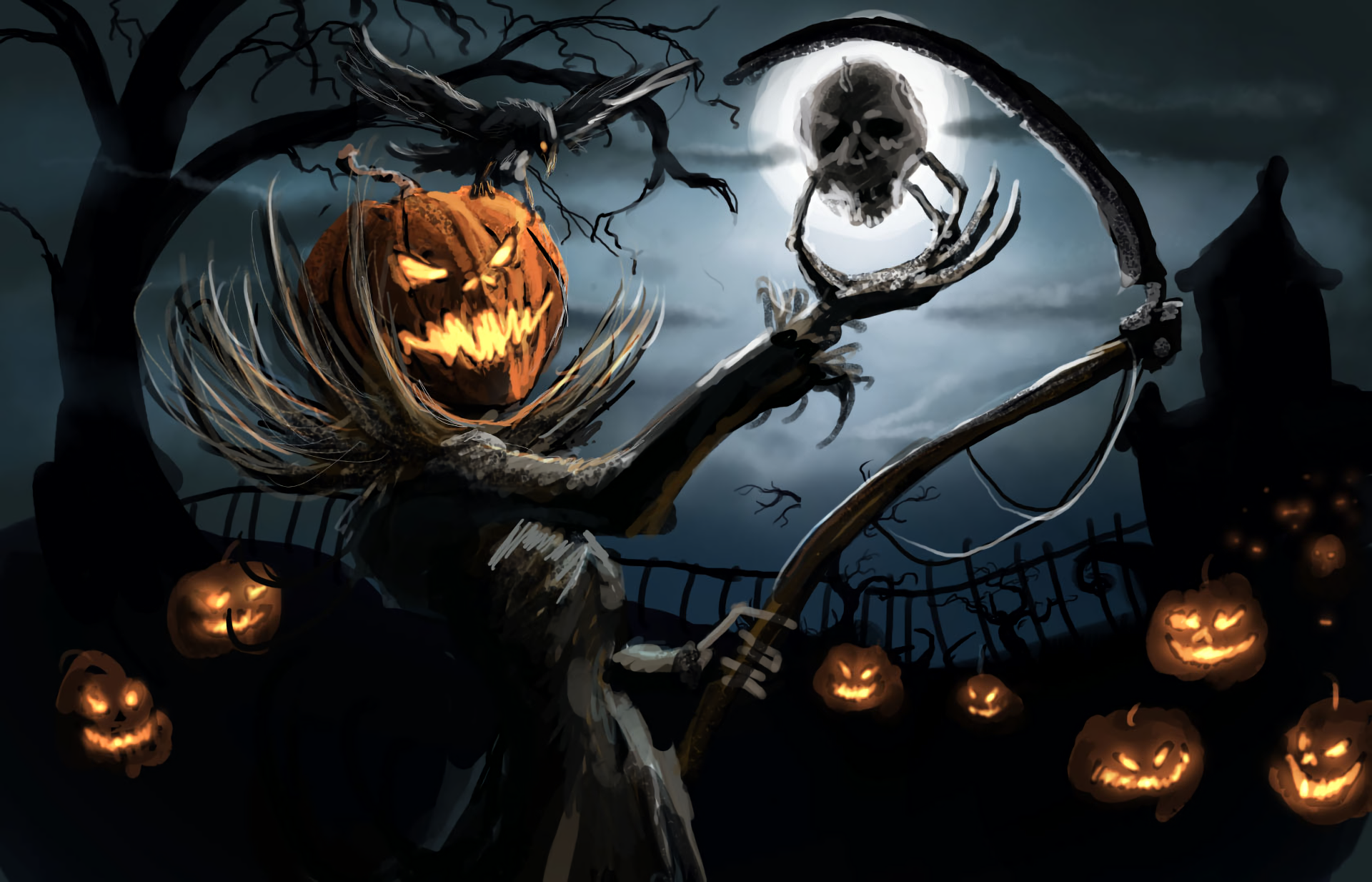 647 Halloween HD Wallpapers | Backgrounds - Wallpaper Abyss